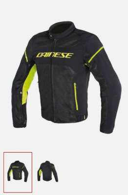 Dainese Air Frame D1 jacket black/yellow