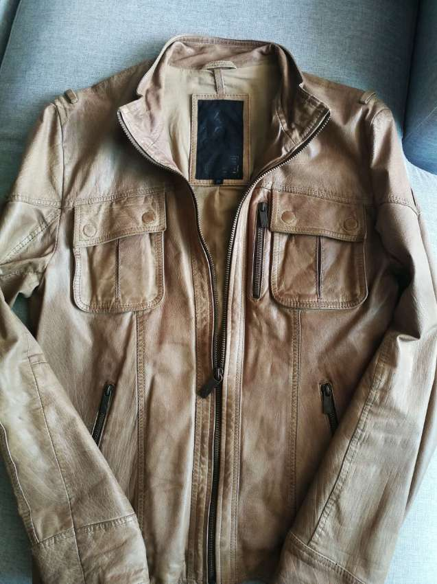 TOP GUN real leather jacket