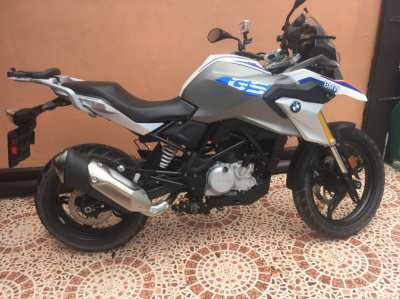 BMW F 310 GS Adventure bike