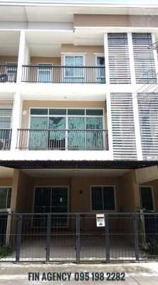 Sell 3-story townhome in Don Mueang area