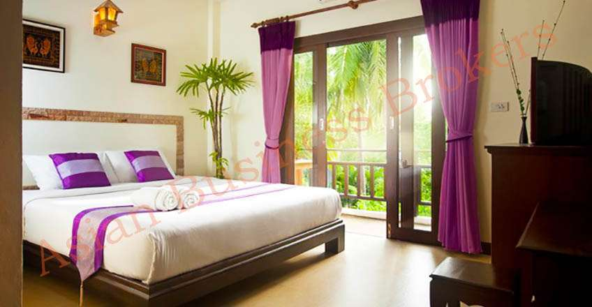 6705023 Profitable Freehold Boutique Hotel in Srithanu, Koh Phangan