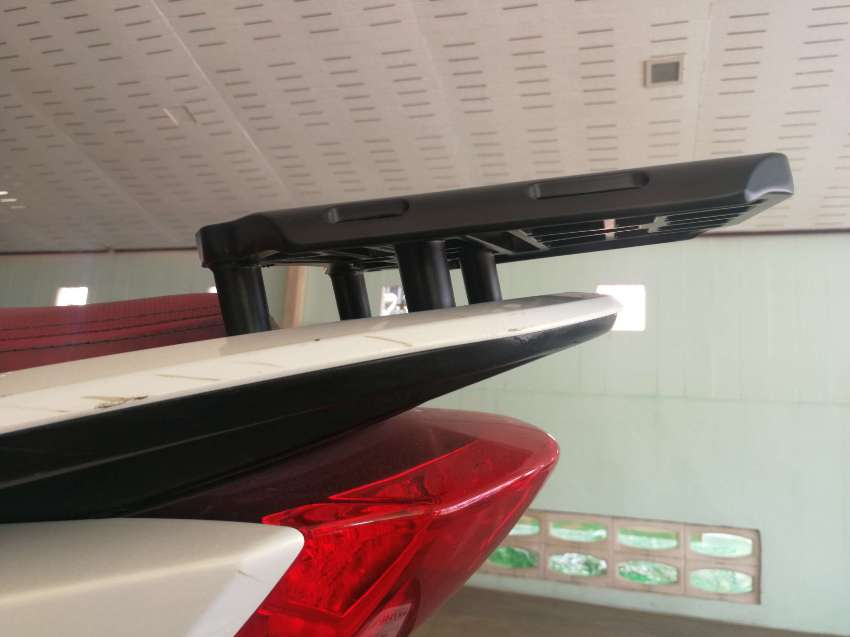 PCX Luggage Rack - very strong