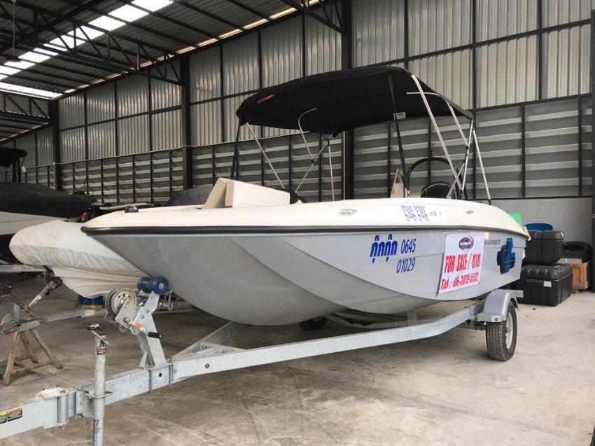 Bayliner Element XL180  outgoing boat