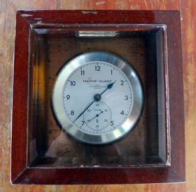 Ship Chronometer very rare Wempe Germany