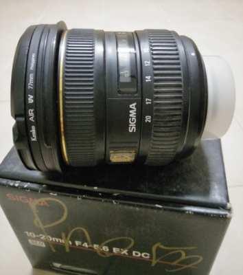 Sigma 10-24mm mount nikon lens