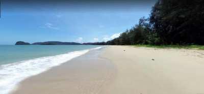 *Beach Front Land For Sale 12 Rai, Ao Nang, Krabi.