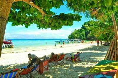 *Beach Front Land For Sale 70 Rai, Pee Pee Island, Krabi.