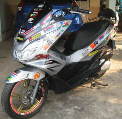 2014 Honda PCX with ONLY 5,000 km