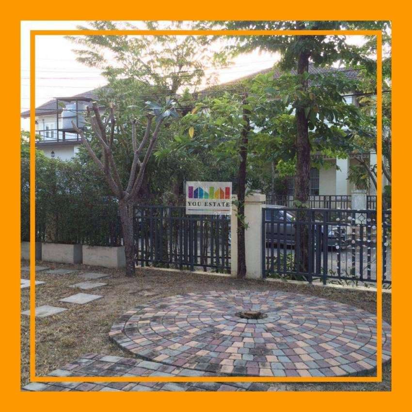 Sansiri quality project, very good location, behind the corner of the