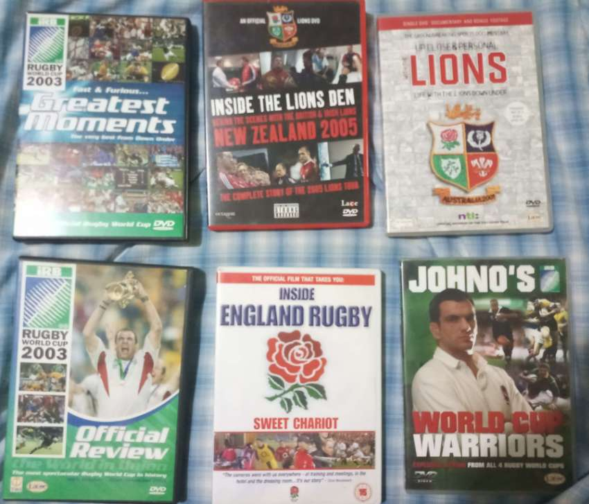 Rugby Union History! 6 x original DVDs