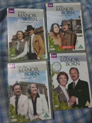 To The Manor Born - All Three series plus 25th Anniversary Special