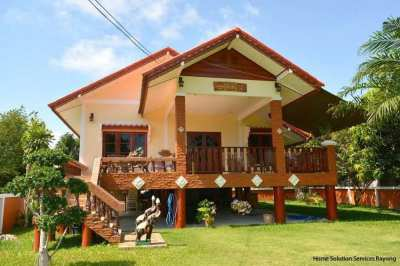 2 bedroom house with an amazing garden close to Suan Son beach