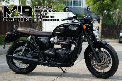 Triumph Bonneville T120 2018 in very nice condition with only 13,8xx!