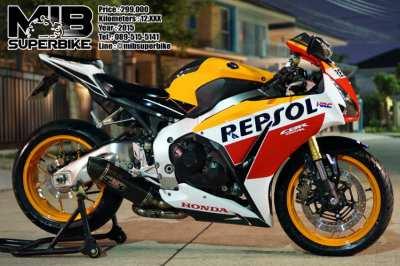 Honda CBR1000RR Repsol 2015 with Yoshimura exhaust only 12,9xx km