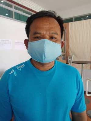 Cleanroom cloth mask