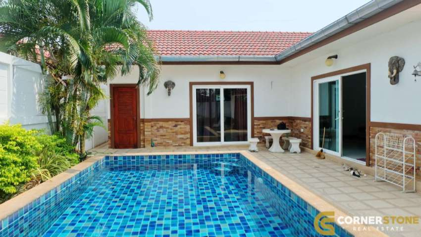 #HR1535  Private Pool Village For Rent At Baan Suay Mai Ngam Village