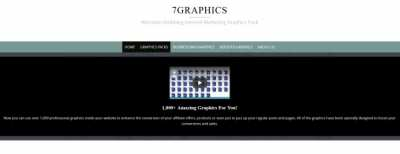 7Graphics Website - Aged and Quality Domain