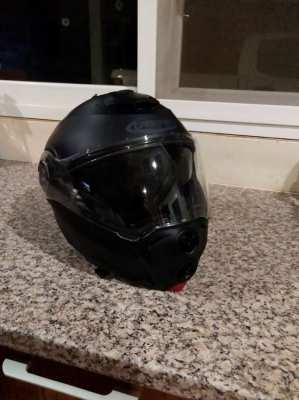 Caberg Droid Flip Up Modular Motorbike Helmet - Matt Black.size L