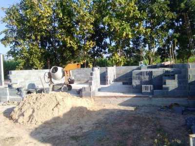 Cement Mixer with  Honda motor