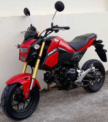 Honda MSX-125 rent start 2.550 ฿/M (6 Month contract paid in 1 time)