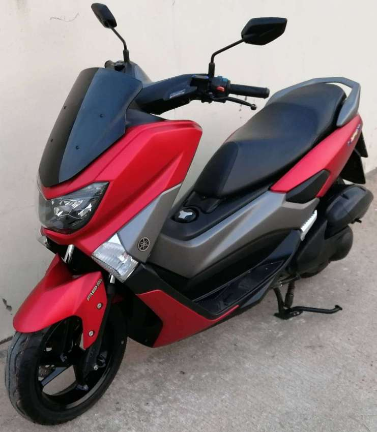 Yamaha N-Max 155 rent start 2.550 ฿/M (6 Month contract paid in 1time)