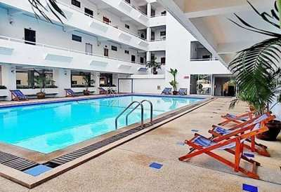 CR1824 Jomtien Hill Resort , Studio for rent