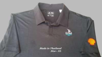 Golf shirt, Men's pre owned Adidas US Open golf shirt