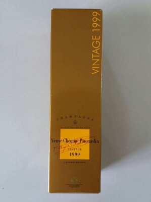 NEW YEAR SALE! Champagne Vueve Clicquot Ponsardin Vintage 1999
