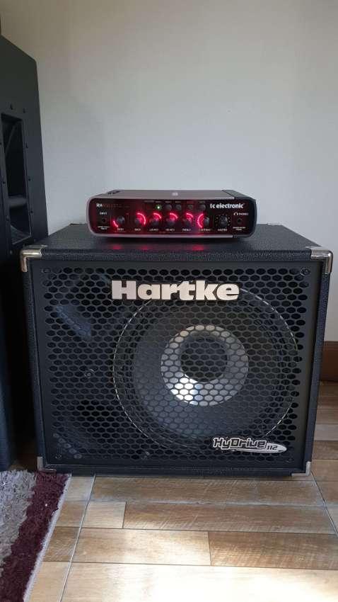 Bass Amp - TC Electronic 450W Rebelhead Amp & Hartke 112 Cab