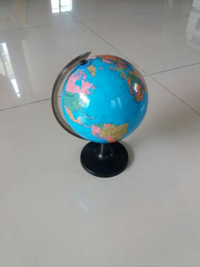 Rotating Globe World Map of Earth Geography Home Decor Class Learning