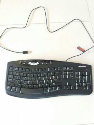 Microsoft Comfort Curve Keyboard 2000 BY Heremore