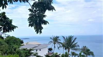 For sale seaview land Chaweng Noi Koh Samui
