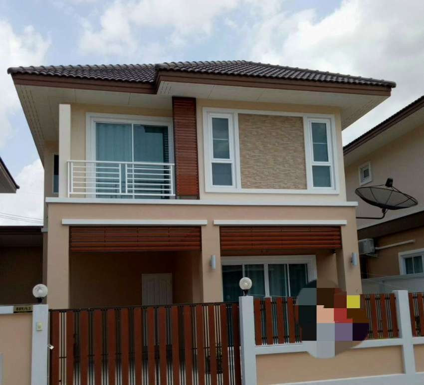 Brand New house for rent East Pattaya near Motorway 7, no flood.