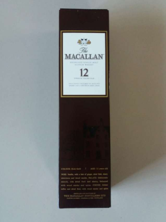 MAKE OFFER NOW  The Macallan Highland Single Malt 12 Year Old