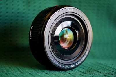 Panasonic Lumix G 20mm F/1.7 II Prime Lens