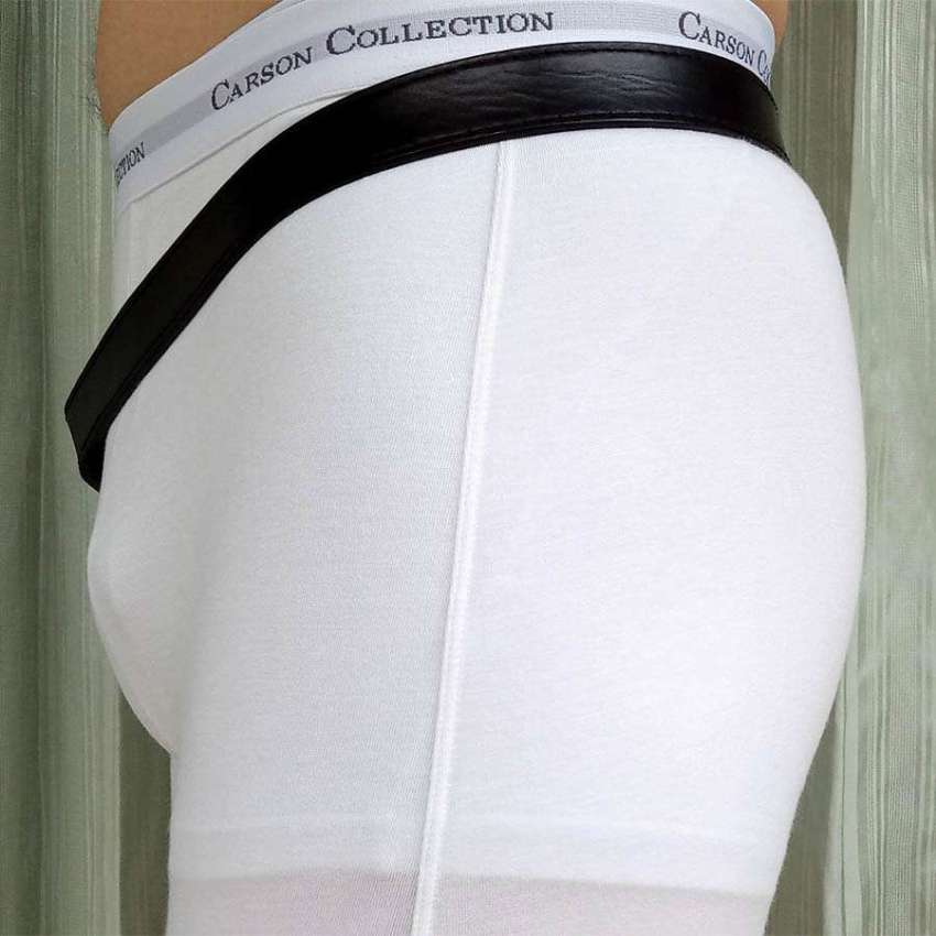 Hernia Belt  / Truss + Medical Grade Hernia Pad. Premium Leather