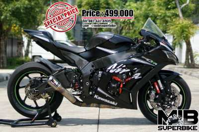 Kawasaki ZX10RR 2017 with Austin racing exhaust! With only 14,3xx km!