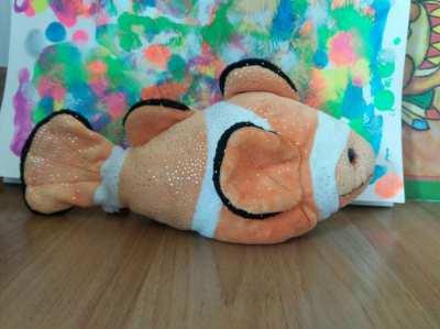 Price Drop  Free Shipping  Douglas Cuddle Bobo Clown Fish Doll