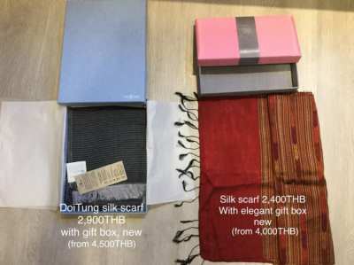2 hats, 1 bag and 5 scarves (price reduced)