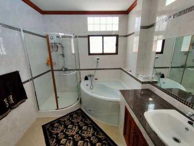 Furnished 4 BR 3 Bath on 804 sqm. Plot 425 Meters to Cha-am Beach