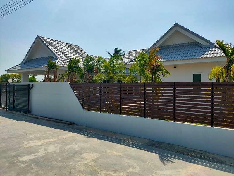 New 3 BR 3 Bath Pool Villa 375 Meters to South Cha-am Beach