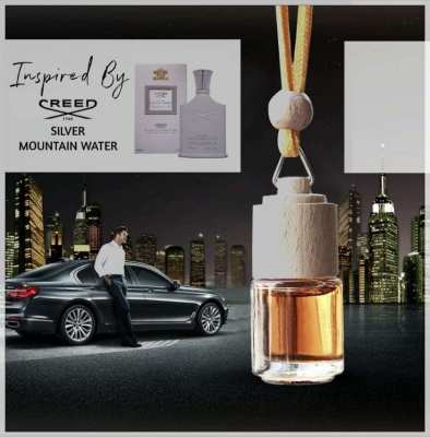 Luxury Designer Car Fragrance Inspired By CREED Silver Mountain Water