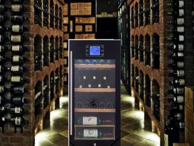 Wine Cooler Wine Cellar Wine Fridge with Compressor JC110