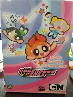 MAKE OFFER NOW FREE SHIPPING The Powerpuff Girls The Super 10 Discs