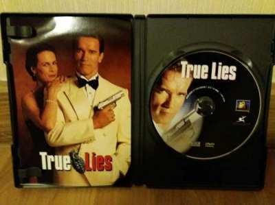 NEW YEAR SALE! True Lies DVD Arnold Schwarzenegger
