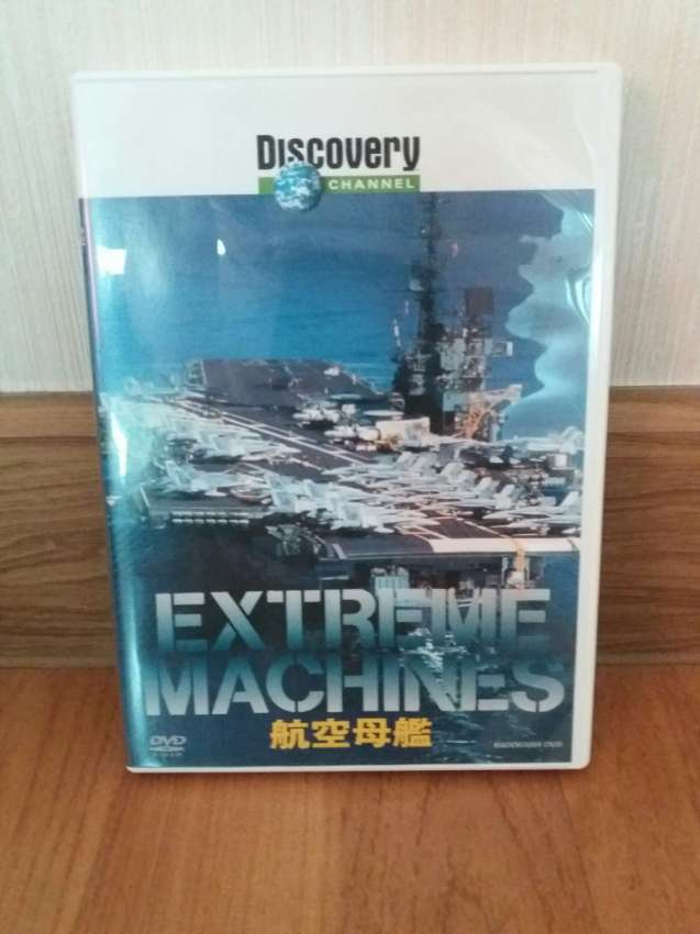Free Shipping Discovery Channel Extreme Machines DVD Aircraft Carriers