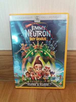 Jimmy Neutron: Boy Genius DVD
