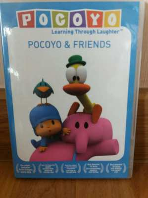 Price Drop Free Mail Pocoyo and Friends Learning through Laughter DVD