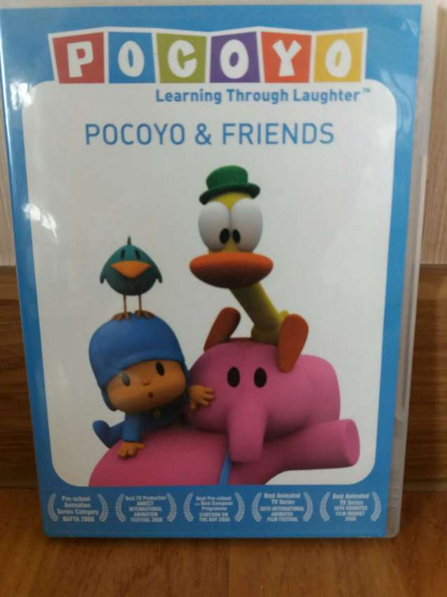 Pocoyo and Friends Learning through Laughter DVD