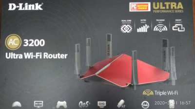 ADSL AC3200 Wifi router and modem